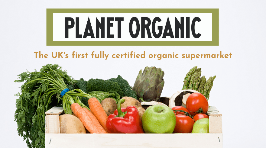 The UK's first fully certified organic supermarket, Planet Organic offers 1000s of products for delivery across the UK.
