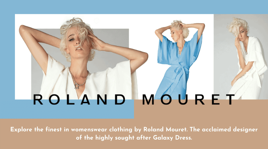 Explore the finest in womenswear clothing by Roland Mouret. The acclaimed designer of the highly sought after Galaxy Dress.
