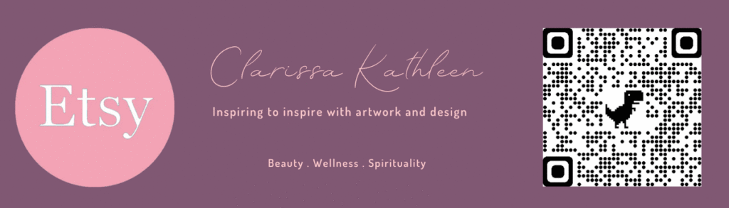 VIsit Clarissa K Etsy shop - Inspiring to inspire with artwork and design